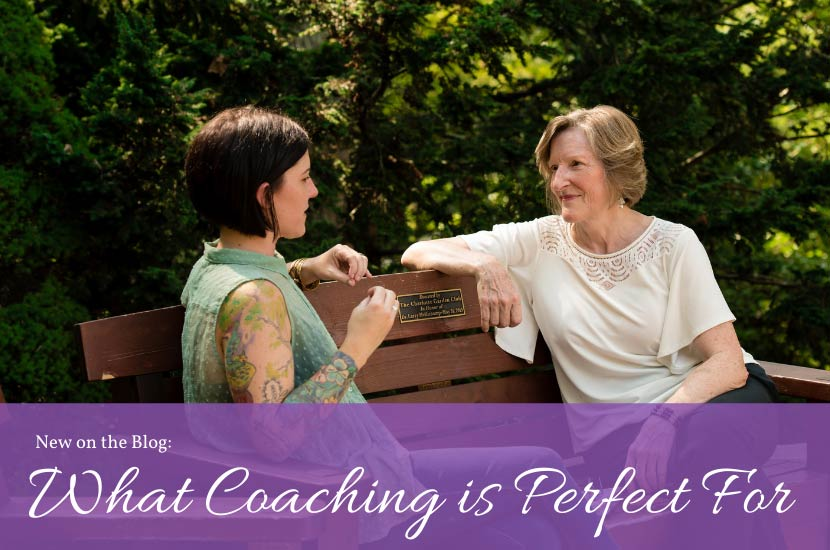 WHAT COACHING IS PERFECT FOR